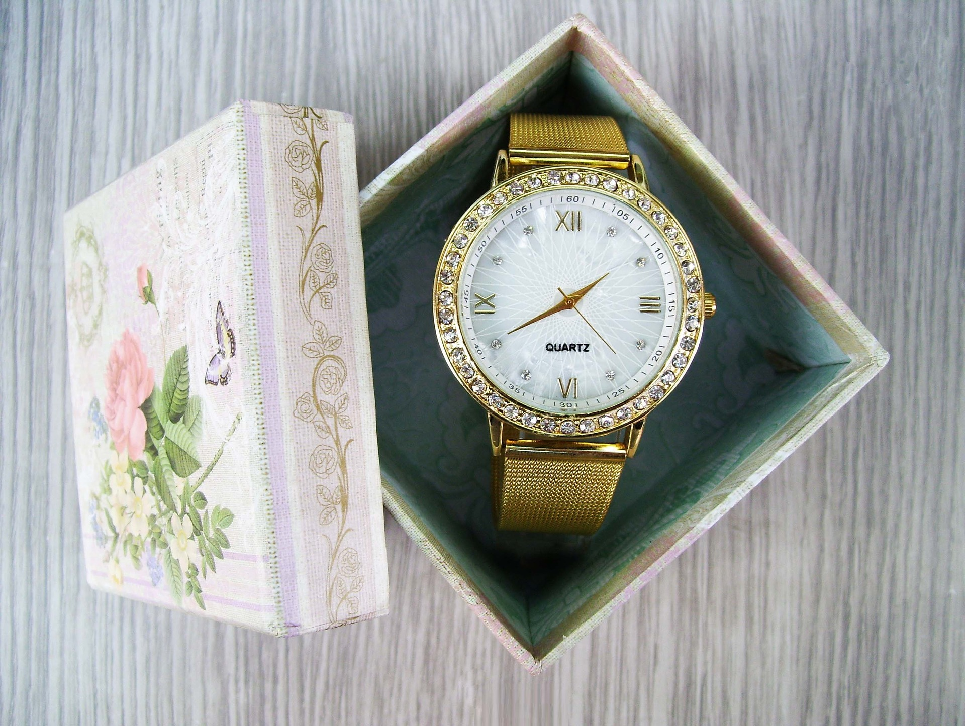 Gift of Time watch in gift box